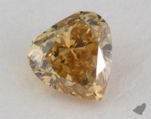 heart0.41 Carat fancy deep brownish yellowSI1