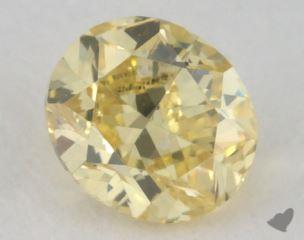 oval0.31 Carat fancy intense yellowVS2