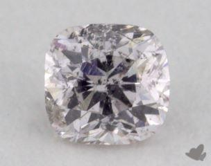 cushion0.19 Carat very light pinkI1