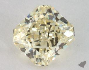 radiant1.52 Carat fancy light yellowVS1