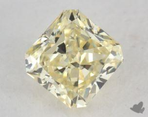 radiant0.73 Carat fancy light yellowVVS2