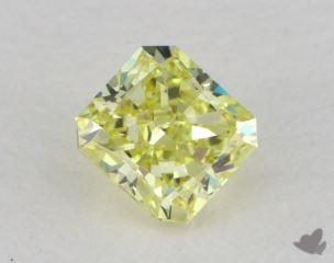 radiant0.51 Carat fancy intense yellowVS2
