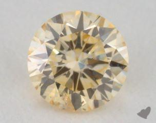 round0.22 Carat fancy orangy yellowI1