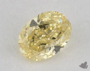oval0.50 Carat fancy yellowSI2