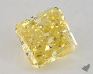 radiant1.44 Carat fancy intense yellowI1