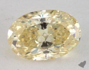 oval1.02 Carat fancy yellowI1