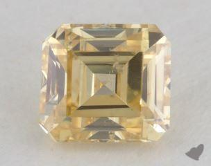 asscher0.81 Carat fancy intense yellowSI2