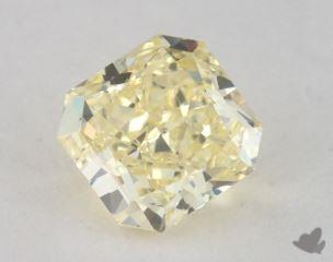 radiant0.64 Carat fancy yellowVS2