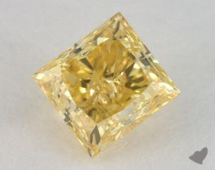 princess1.11 Carat fancy vivid yellowVS2