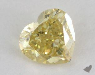 heart0.56 Carat fancy intense yellowSI1