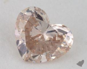 heart0.39 Carat fancy pinkI1