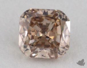cushion0.19 Carat fancy pinkSI1