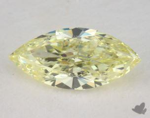 marquise0.50 Carat fancy light yellowVS2