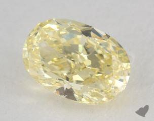 oval1.15 Carat fancy yellowSI1