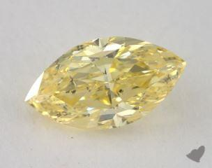 marquise1.51 Carat fancy intense yellowSI2