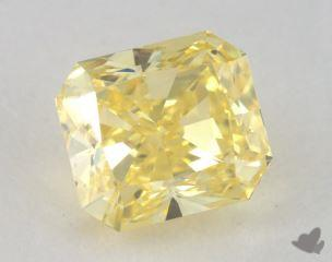 radiant0.72 Carat fancy intense yellowVS2