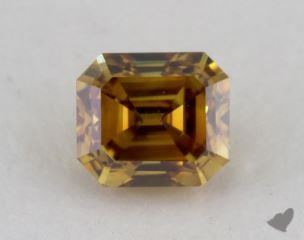 emerald0.35 Carat fancy deep brownish orangy yellowVS2