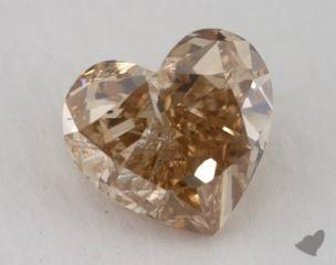 heart2.03 Carat fancy brownish yellowI1