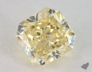 radiant2.08 Carat fancy yellowSI2