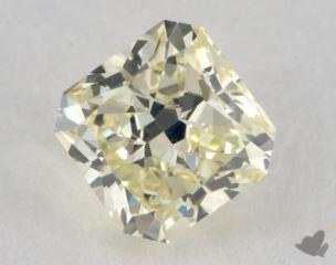 radiant0.75 Carat light yellowVVS2
