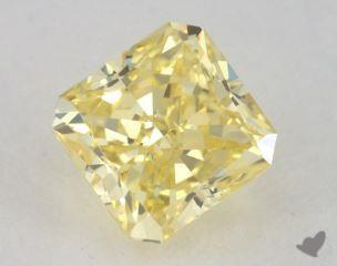 radiant0.71 Carat fancy intense yellowVS2