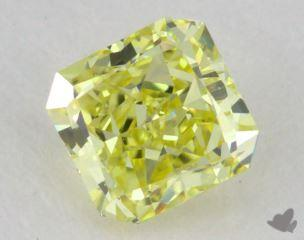 radiant0.59 Carat fancy intense yellowVVS2