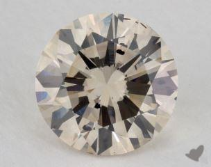 round3.19 Carat very light brownSI2