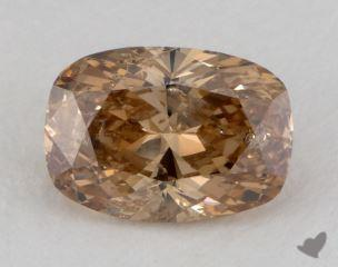 cushion3.50 Carat fancy orangeI1