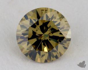 round0.71 Carat fancy deep grayish greenish yellowSI2