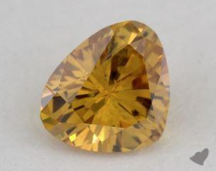 heart0.26 Carat fancy intense orange yellowSI1