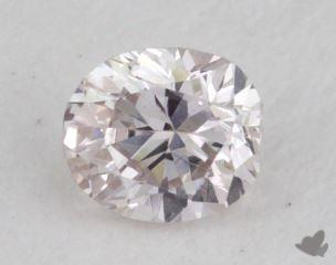 oval0.22 Carat very light pinkVS2