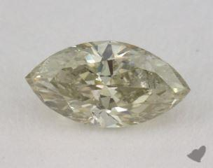marquise0.58 Carat fancy yellowI1