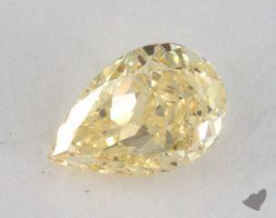 pear0.79 Carat fancy intense yellowI1