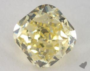 cushion1.59 Carat fancy intense yellowSI2