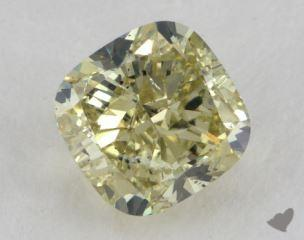 cushion2.21 Carat fancy yellowSI2