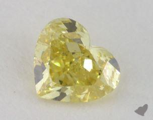 heart0.59 Carat fancy intense yellowSI1