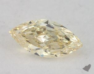 marquise0.85 Carat fancy light yellowSI1