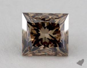 princess1.13 Carat fancy dark yellow brownSI2