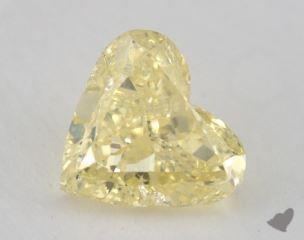 heart1.56 Carat fancy yellowI1