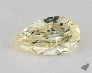 pear1.41 Carat fancy light yellowSI2