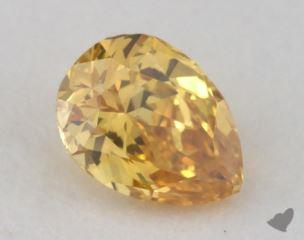 pear0.22 Carat fancy intense orange yellowVVS2