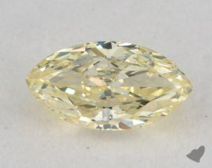 marquise0.47 Carat fancy light yellowVVS2