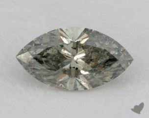 marquise1.73 Carat fancy yellowish greenI1