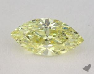 marquise0.57 Carat fancy yellowVS1