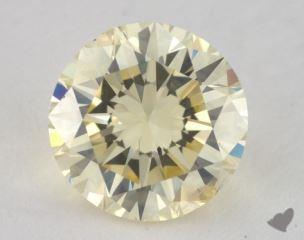 round1.28 Carat light yellowI1