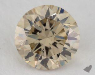 round1.24 Carat light brownSI1