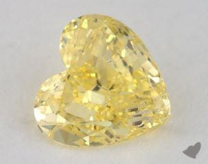 heart0.94 Carat fancy intense yellowI1