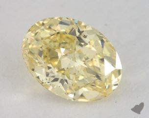 oval1.51 Carat fancy intense yellowSI2