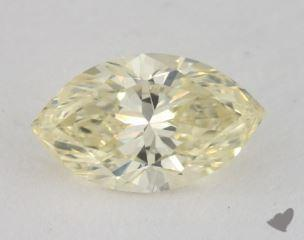 marquise1.14 Carat fancy light yellowSI2