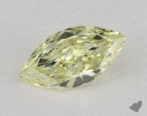 marquise0.60 Carat fancy light yellowVS1